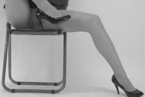 背の高い女性のストッキング