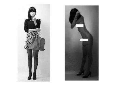 身長180㎝を超える日本人女性のヌード